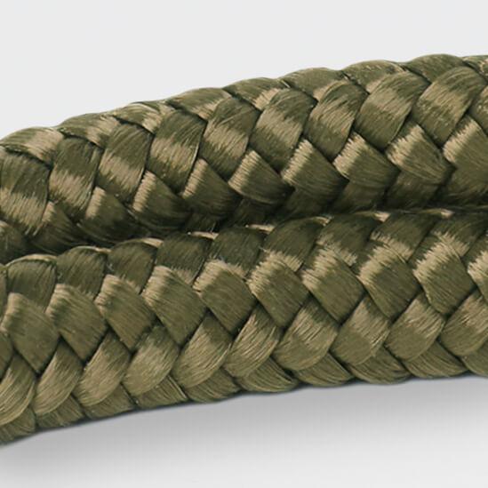 Het legergroene touw van ARMBND