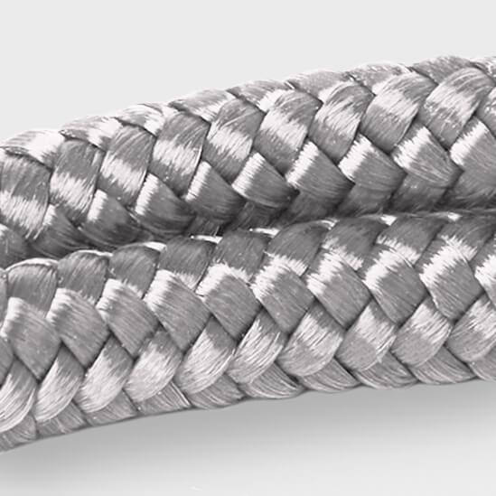 Het grijze touw van ARMBND