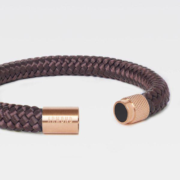 Bruine armband van touw