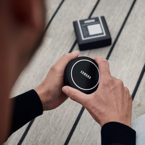 Verpakking van ARMBND, blik en doosje
