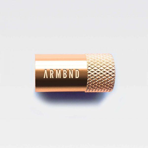 Rosé gouden magneetsluiting van roestvrijstaal | ARMBND