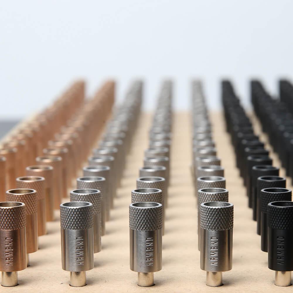 De 8mm magneetsluitingen van ARMBND voor productie
