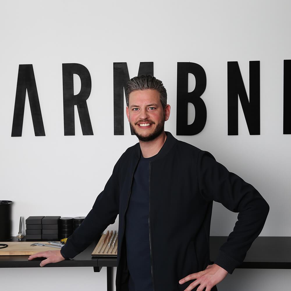 Danny de Keizer, ontwerper van ARMBND